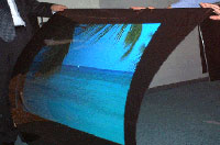 Clarex Blue Ocean Screen - Rear Projection -Flexible